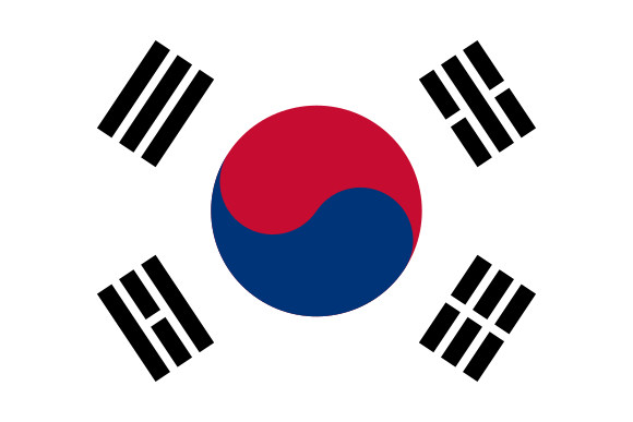 bendera korea
